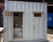Container toilet 10 feet 2