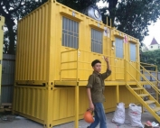 Container toilet 20 feet 1