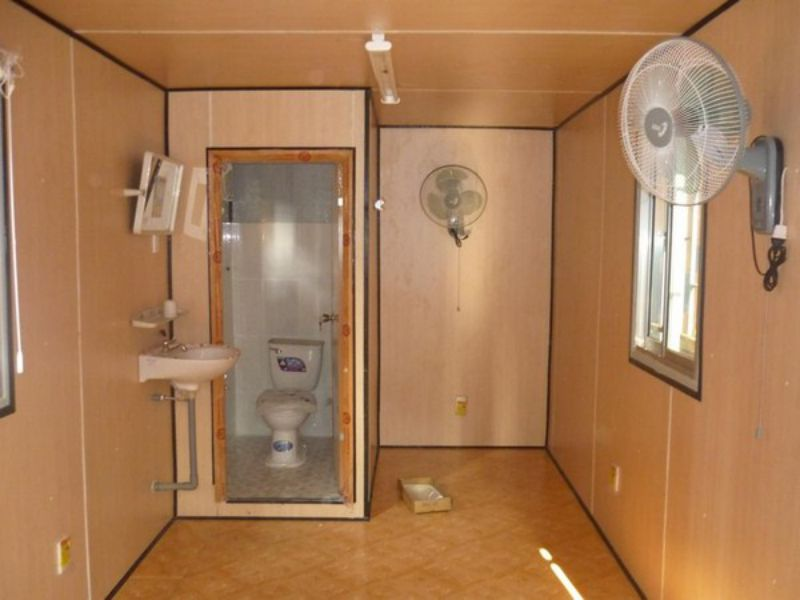 Container toilet 20 feet 3